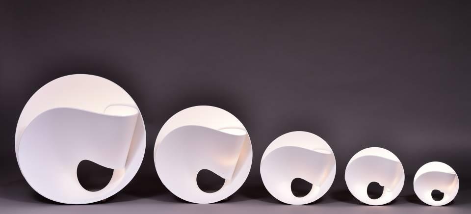 hi macs tulip pierre cabrera lg. Black Bedroom Furniture Sets. Home Design Ideas